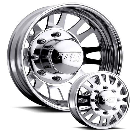 Eagle 056 Polished 20×7.5 Ford F350/450 05 to Present